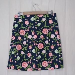 Ann Taylor factory Floral Pencil Skirt size 6